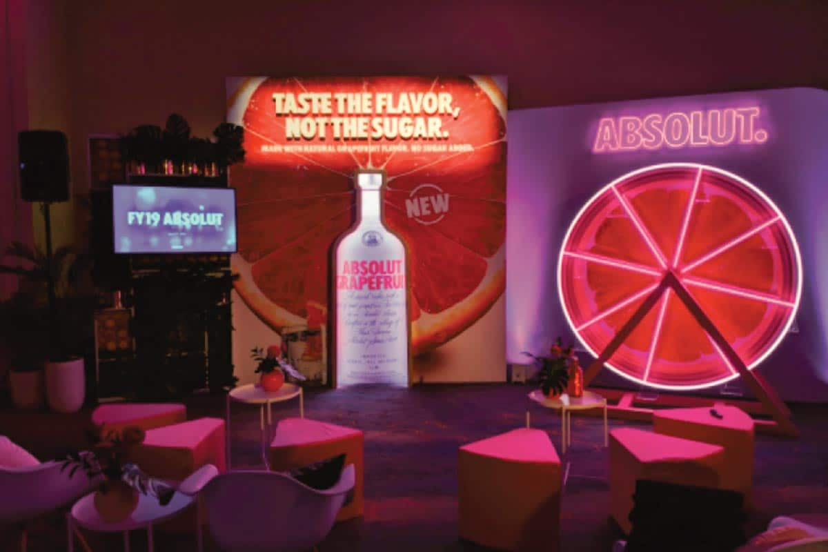 Absolut Grapefruit Product Launch